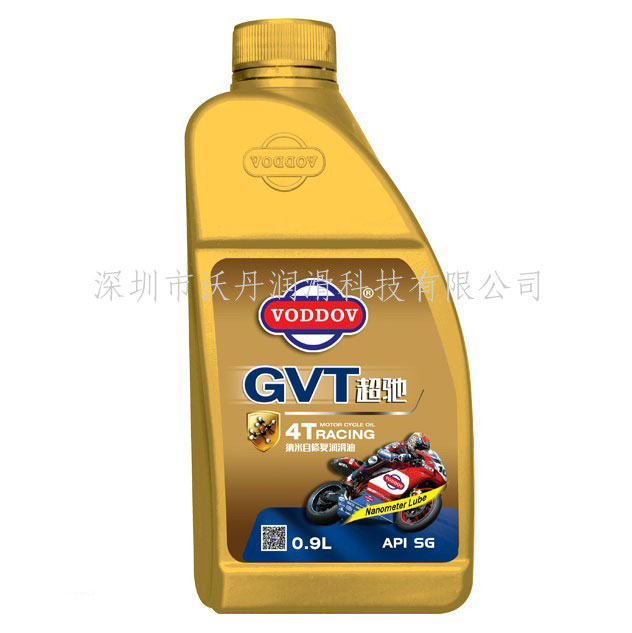 沃丹(VODDOV)超驰SG 15W40摩托车机油 0.9L装