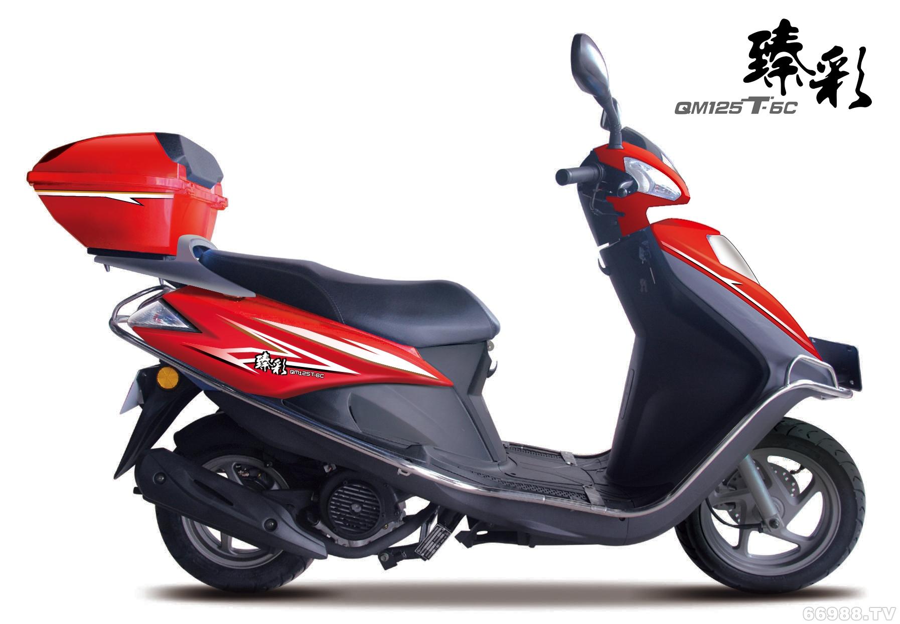 轻骑铃木臻彩QM125T-6C(T1)摩托车