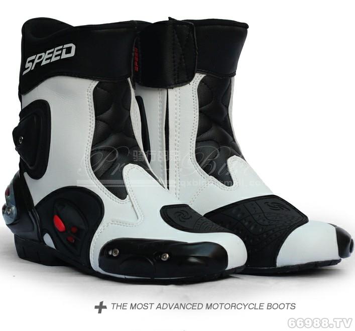 骑行部落Pro-biker风火轮赛车靴A004