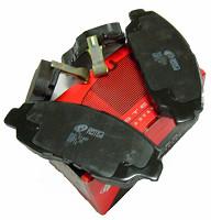 星展REMSA耐磨士ECE-R90原装进口刹车片本田雅阁2.0 2.3CB# CD# 前刹车片