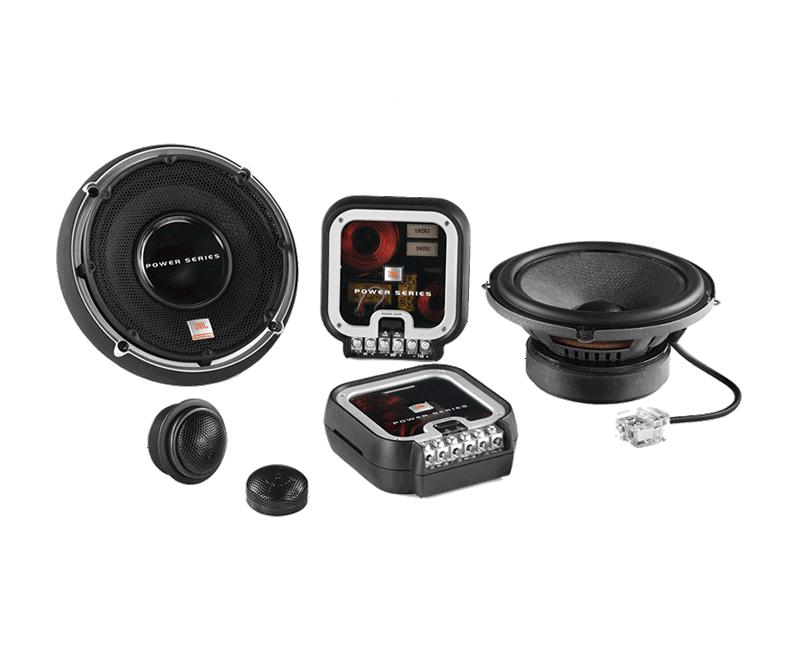 皇者汽车JBL P660C 6.5寸扬声器套装