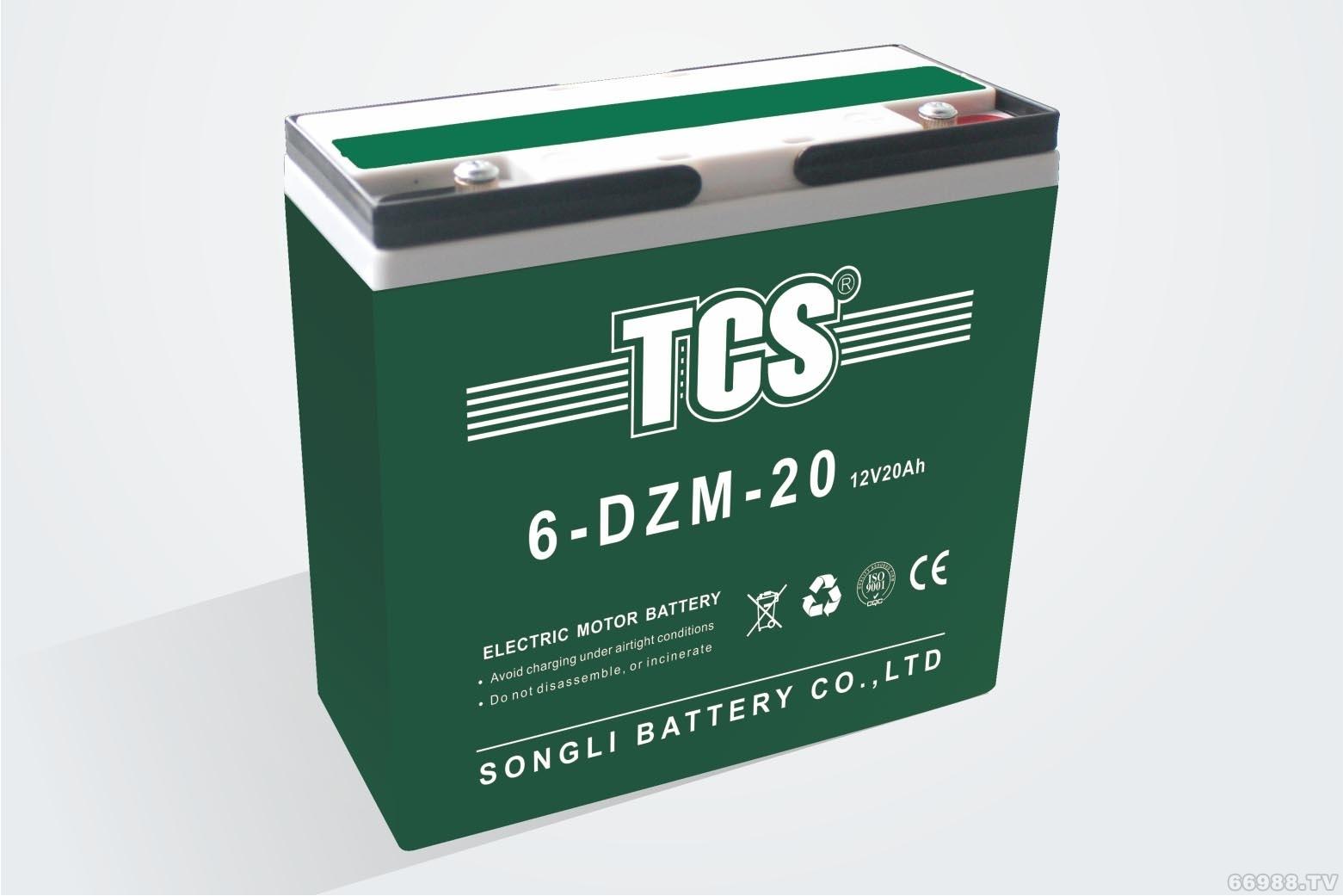 松立电动车电池TCS 6-DZM-20