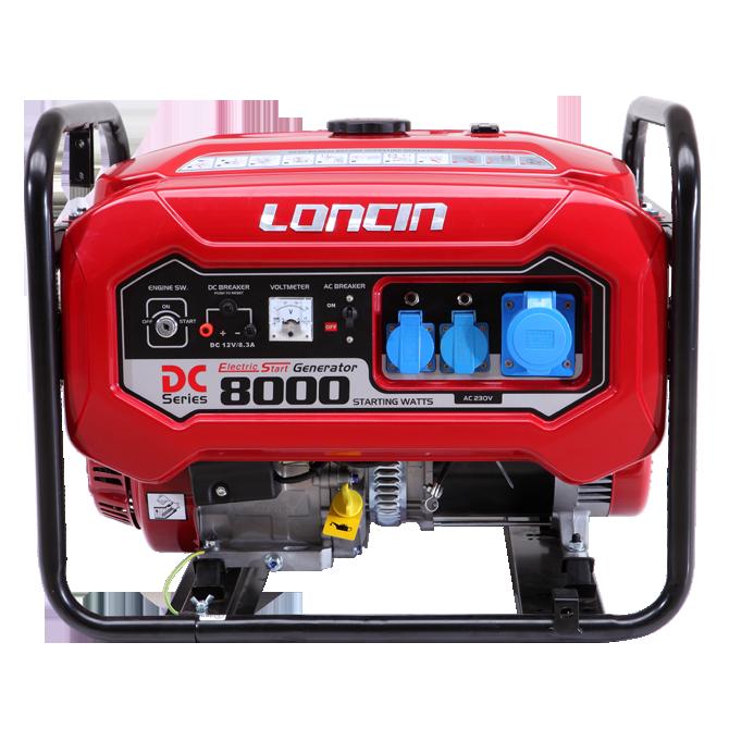 隆鑫发电机LC8000D(D)C