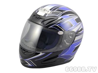 富氏摩托车头盔B38-4#蓝
