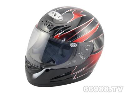 富氏摩托车头盔B38-4#红