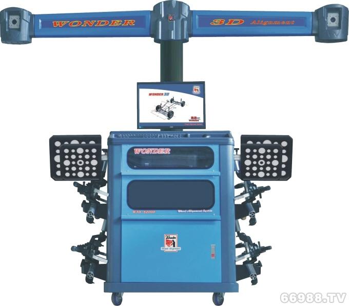 锦凯通万达3D汽车四轮定位仪 S2000