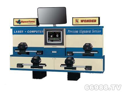 锦凯通万达镭射激光系列四轮定位仪 W-818M
