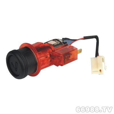 华路HL4610带背光灯点烟器