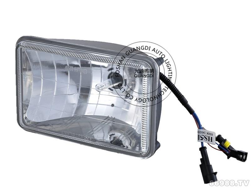 光迪5寸方HID双光自由式(灯泡可拆卸)