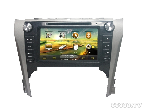 卡百特皇家影院2012新款凯美瑞车载专用DVD导航仪