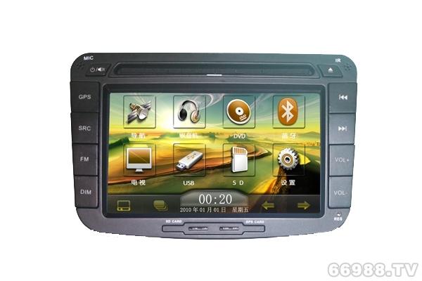 卡百特皇家影院2012新款帝豪EC7车载专用DVD导航仪