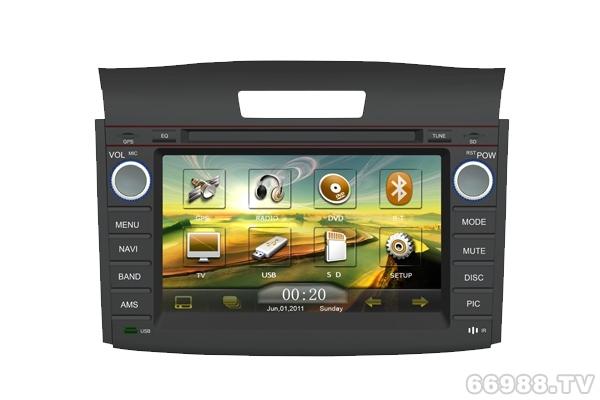 卡百特皇家影院2012新款本田CR-V车载专用DVD导航仪