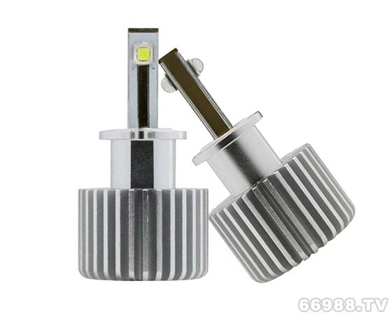 H3汽车LED灯 一体化设计 热电分离工艺