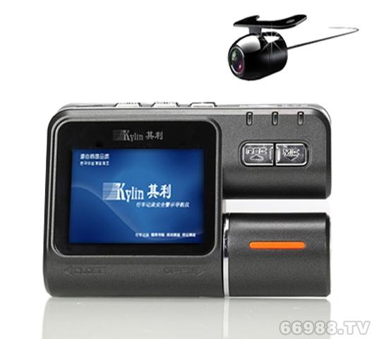 其利Kylin双镜头行车记录仪 K800+