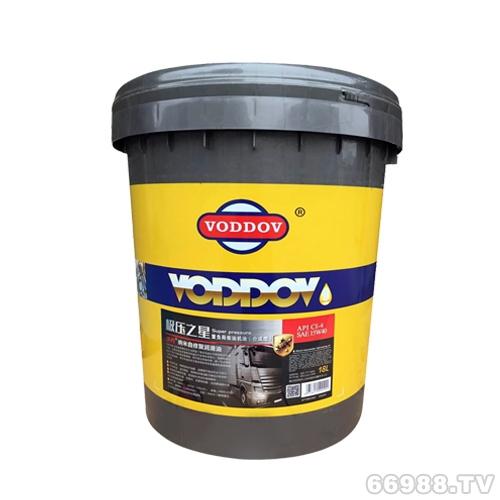 沃丹(VODDOV)极压之星重负荷柴油机油(CI-4/SM 15W/40 20W50)大桶18L