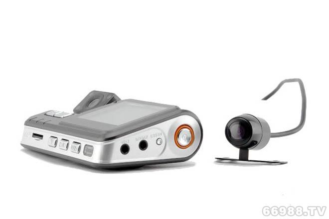隐形双镜头后视行车记录仪I1000 I1000A