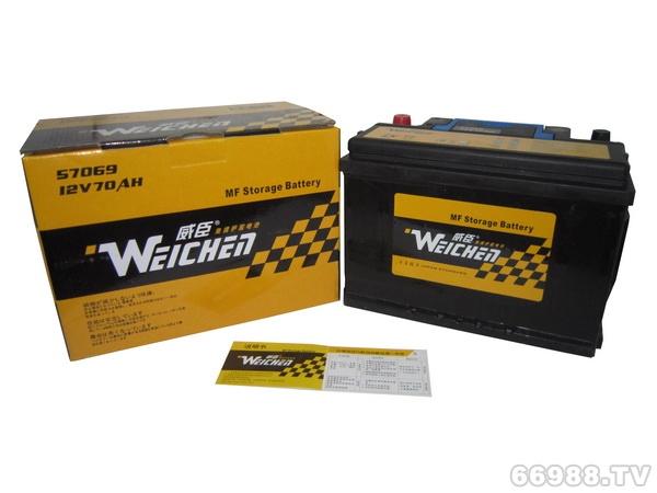 晶丰威臣蓄电池57069(12V70AH)