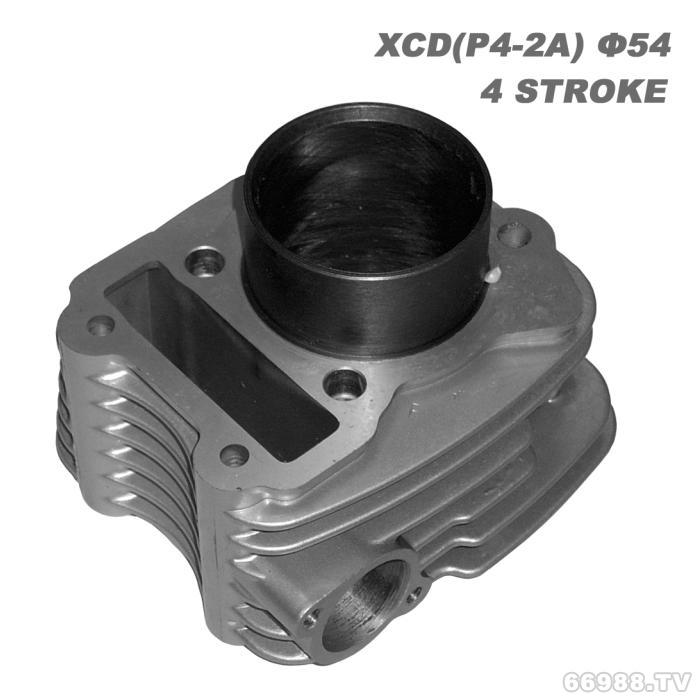 经久摩托车气缸体 XCD(P4-2A)