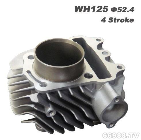 经久摩托车气缸体 ACTIVA125/KCW125