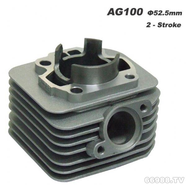 经久摩托车气缸体 AG100