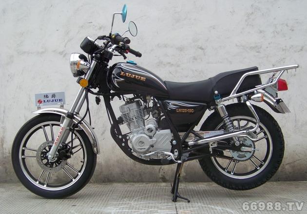陆豪陆爵LJ125-19C美式太子摩托车