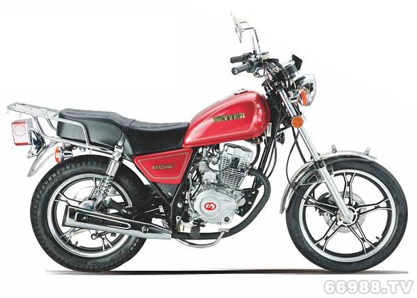 宝德BT125-11C太子款摩托车