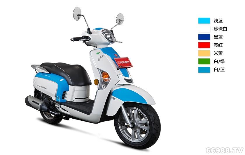 光阳LIKE 180 Fi /双色版摩托车