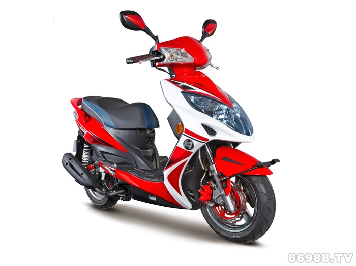 光阳弯道情人150 KCC摩托车