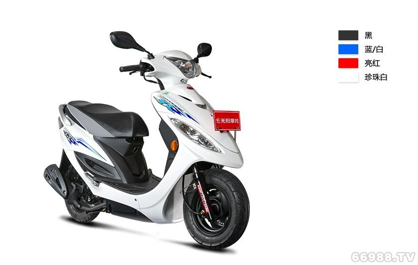 光阳动丽125豪华版摩托车