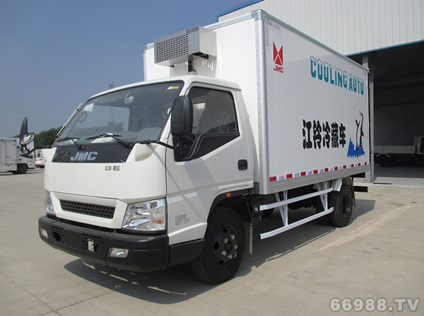 江铃凯运宽体单排小吨位冷藏车