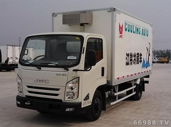 江铃N800 3360单排冷藏车