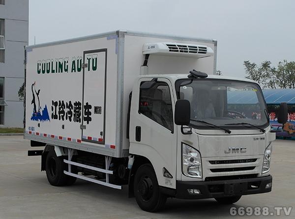 江铃凯锐N800 3360单排冷藏车