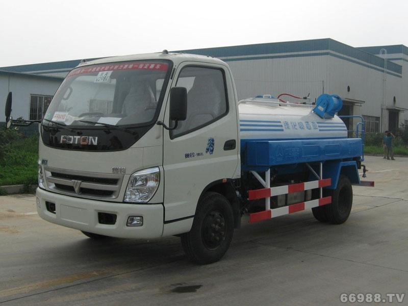 JYJ5050GPS绿化喷洒车