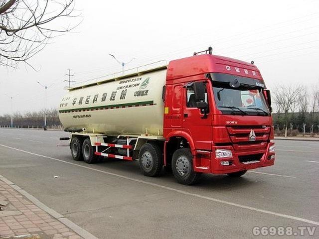 JYJ5317GFLD1低密度粉粒物料运输车