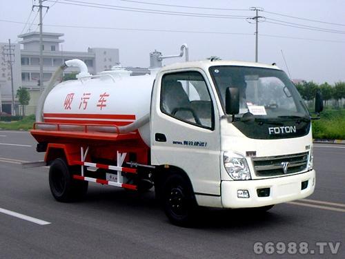 JYJ5050GXW吸污车