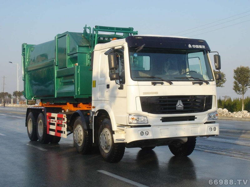 JYJ5312ZXX车厢可卸式垃圾车