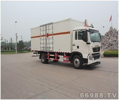 JYJ5167XRYD型易燃液体厢式运输车