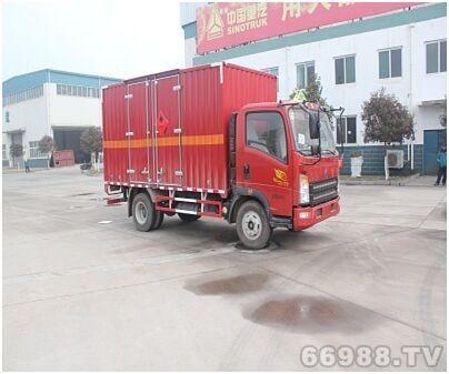 JYJ5047XRYE型易燃液体厢式运输车