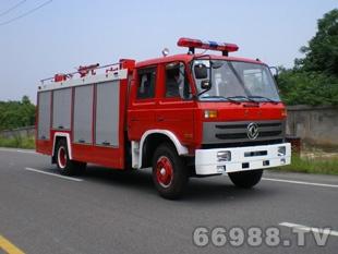 东风153型水罐泡沫型泡沫消防车