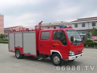 小庆铃型水罐消防车