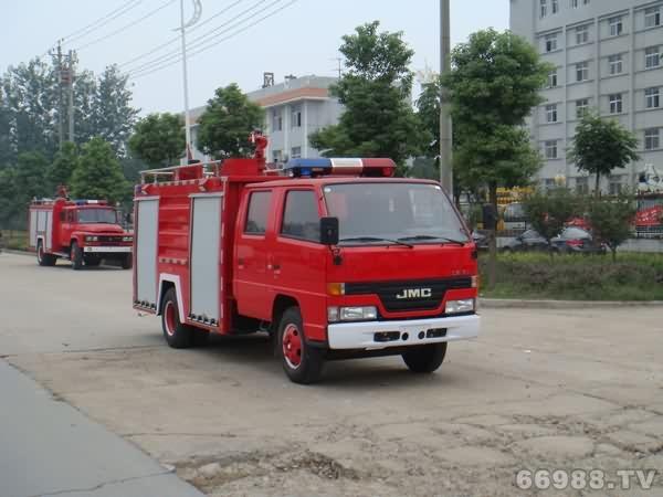 江铃型水罐消防车