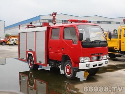 东风小霸王型水罐消防车