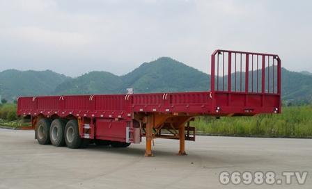 南明LSY9404型高低板半挂车