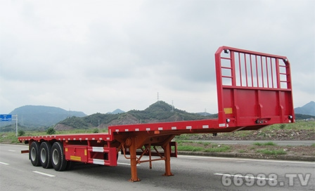 南明LSY9401TPB型平板运输半挂车