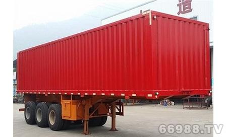 南明LSY9405XXY型三轴厢式运输半挂车
