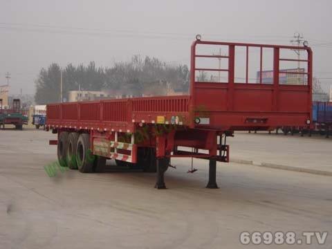 华驰泰骋 13米 30吨 3轴 半挂车 LHT9380