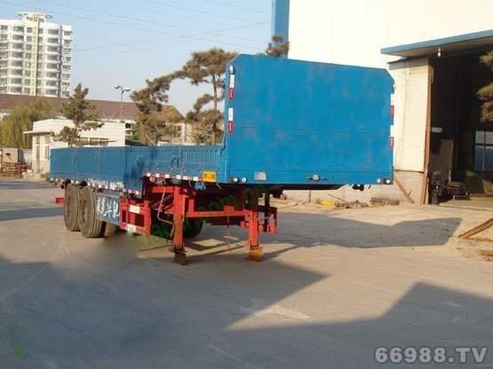华驰泰骋 10米 28吨 2轴 半挂车 LHT9340