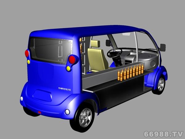 朗格熊猫8座饮料车M08-Y