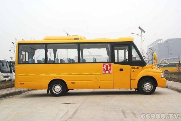 少林牌SLG6720XC4Z型小学生专用校车