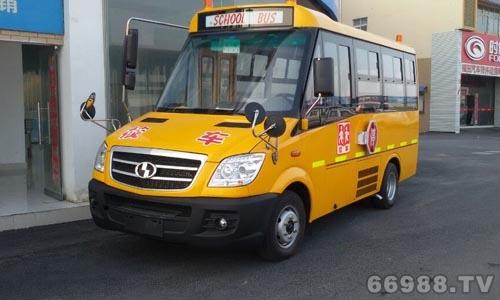 少林牌SLG6580XC4F型幼儿专用校车
